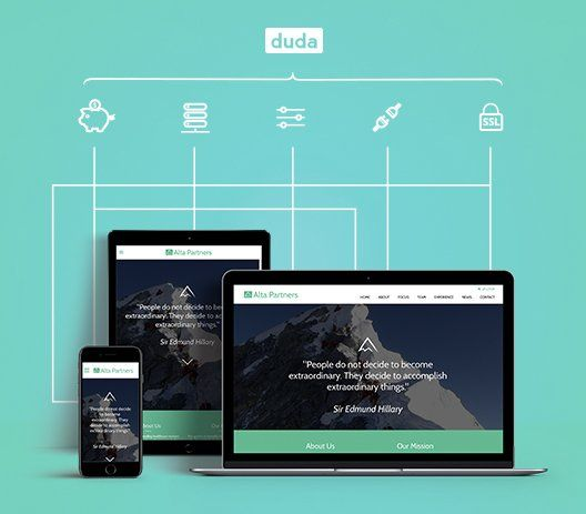 The Camel web design agency - DudaPro case study