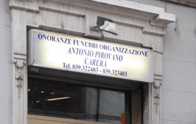 pompe funebri a Monza