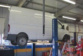Van servicing