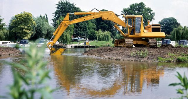 excavating contractor at work in Nevada, OH
