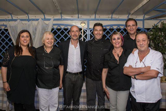 Lo staff del ristorante Albarosa