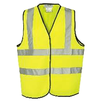 High Visibility Vest | Kickstart Moped Hire | Norfolk, Cambs & Suffolk border