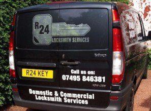 R24 Locksmith Services vehicle