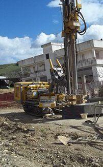 installazioni di piezometri, pali da fondazione, palificazione
