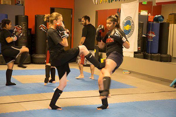 Combat Kickboxing Class