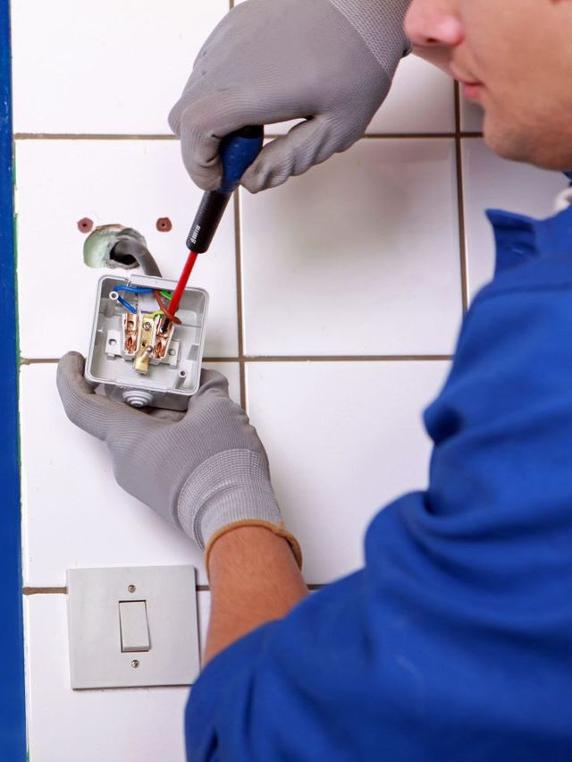 Electrical services being performed in Wellington
