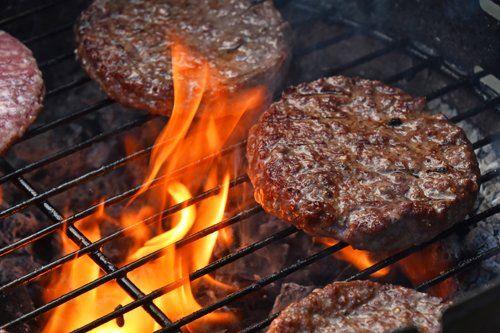 Hamburger sulla griglia