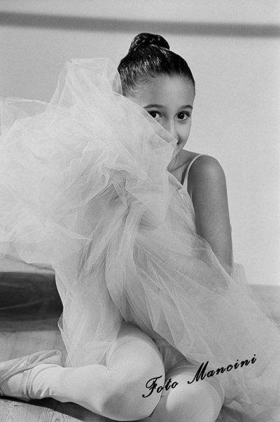 foto Mancini di una ballerina