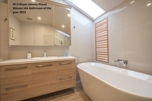 wd bryan joinery house hia award winner kitchen sink