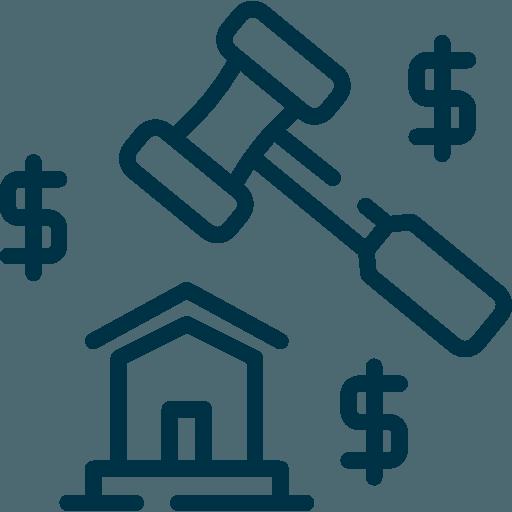 icona casa con martello