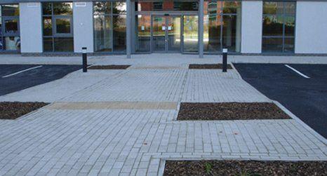 commercial premises paving