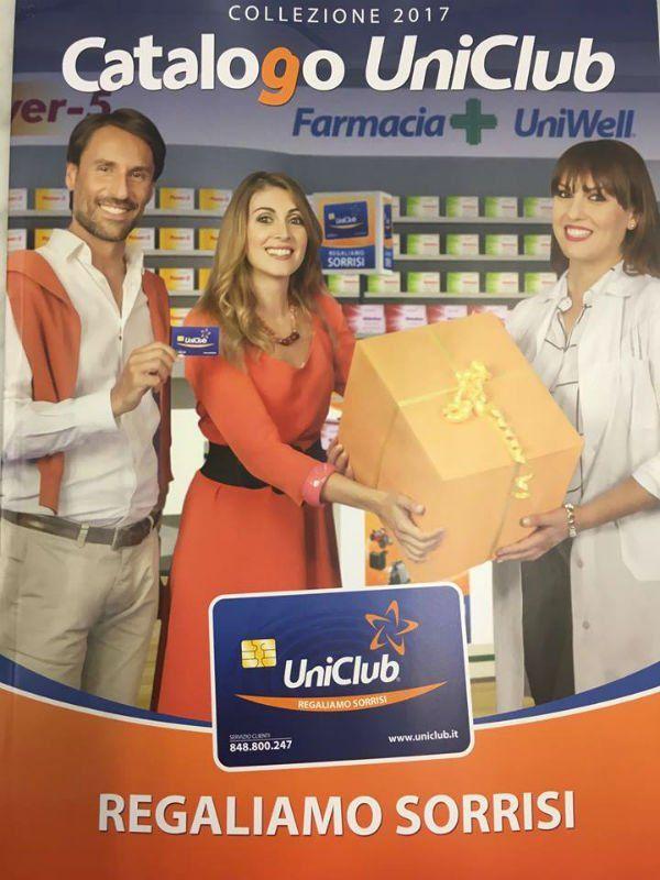 La Farmacia S. Alberto è associata con Uniclub Farma e vi offre un esclusivo programma fedeltà