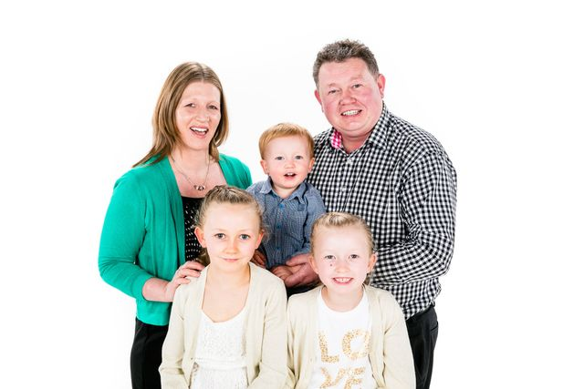 A family happy after a pre booking at a funeral home in Tararua