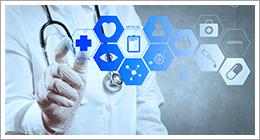 immagine astratta di elenco servizi medici