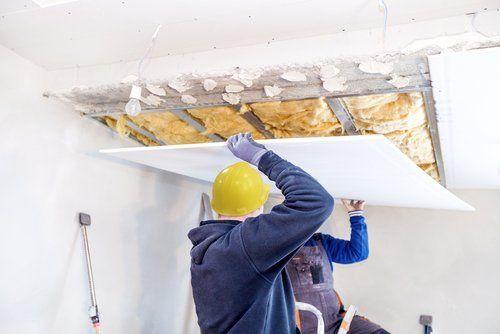 costruzione controsoffitto in cartongesso