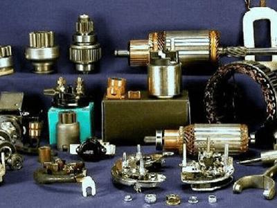 accessori e  ricambi elettrici e meccanici