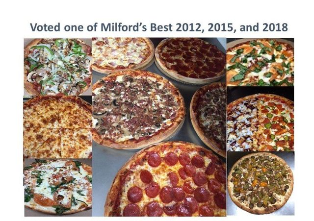 celebrating over 30 years of serving homemade and delicious fresh food - Garden Pizza Milford Ma