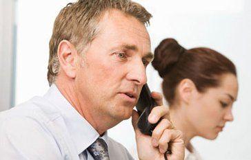 gentleman on the phone