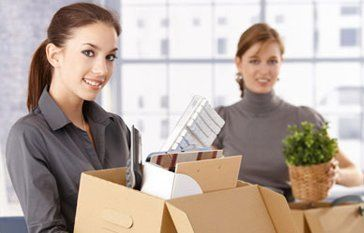 office staff moving premises