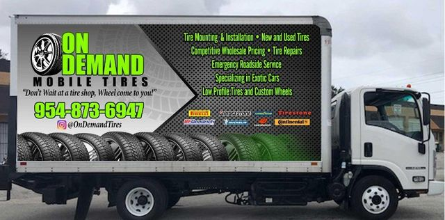 Mobile Tire Service >> Mobile Tire Sales Service Serving The Fort Lauderdale Area