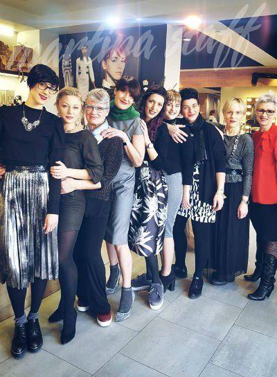 Diana e Martina Bolrlin e la sua squadra di creatori