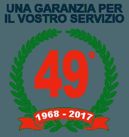 49 anni di esperienza