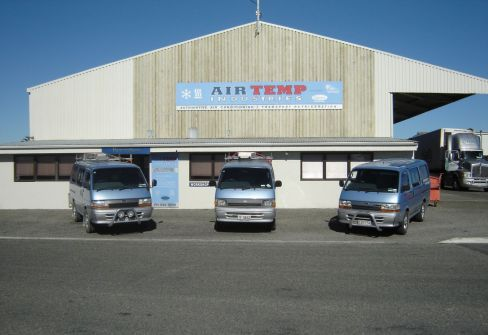 Our automotive air conditioning factory in Nelson