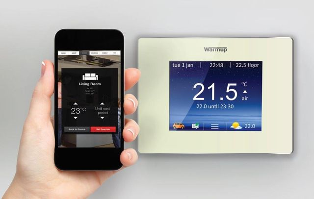 Thermostat control via your phone