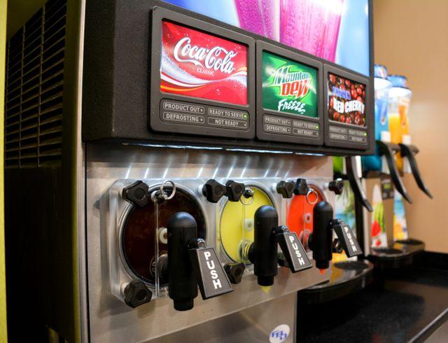frozen drink machines in central ar