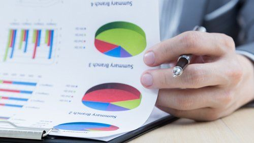 professional North Shore tax accountant preparing financial statements