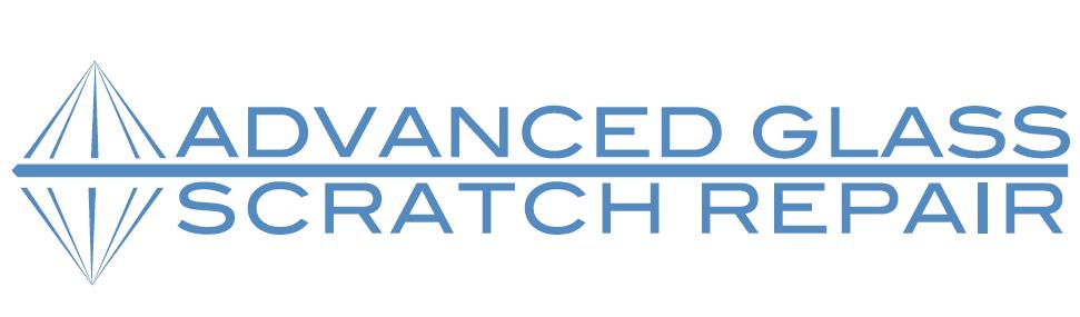 advanced glass scratch repair business logo