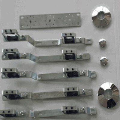 componenti in metallo per macchinari di produzioni