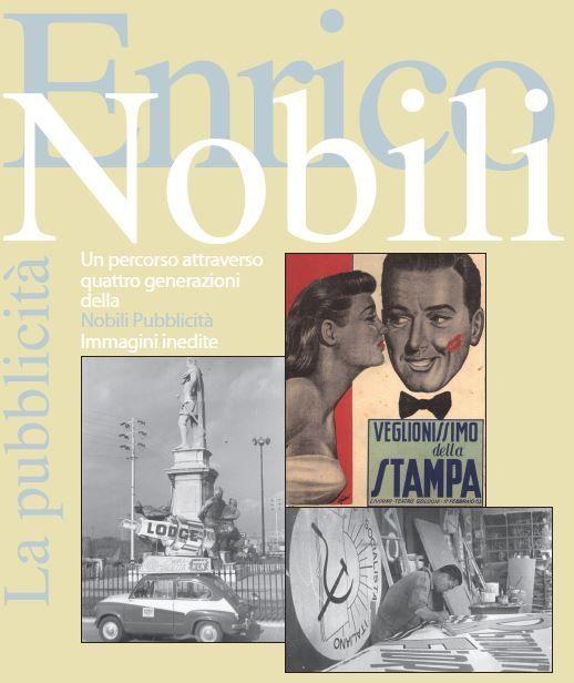 pubblicita` vintage di Enrico Nobili