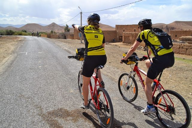 Morocco bike tour ride
