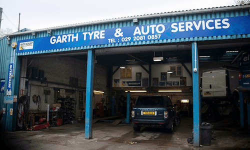 GARTH TYRE service centre