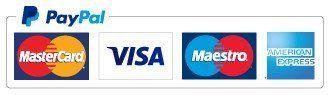 PayPal VISA logos