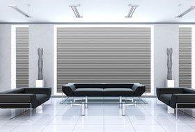 stylish living room set up