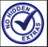 No hidden Extras logo