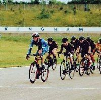Steve Ingram at Rockingham Race circuit