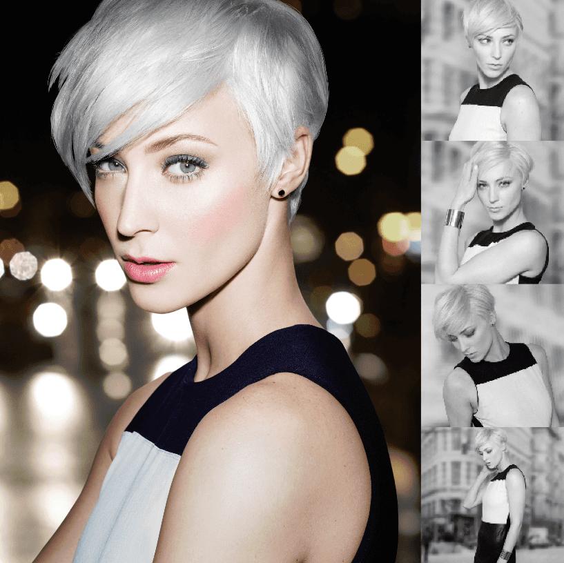 Short hair blonde hairstyles redken at kay and kompany salon