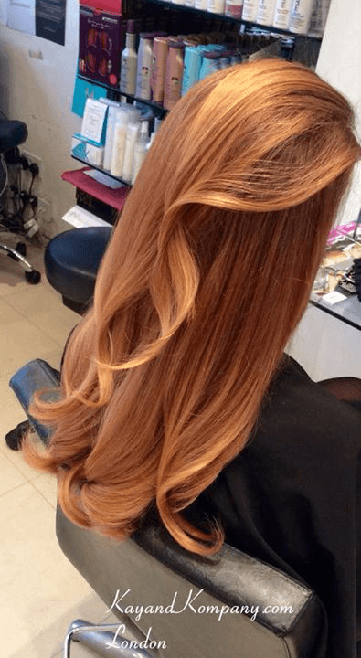Organic hairdressers olaplex in London n10-muswell hill-kay and kompany-ombre hair-balayage haircolour