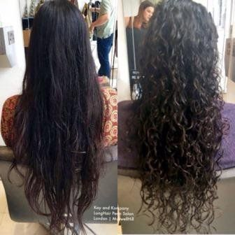 Hair Perm Curly Salons Curls Wavy Long