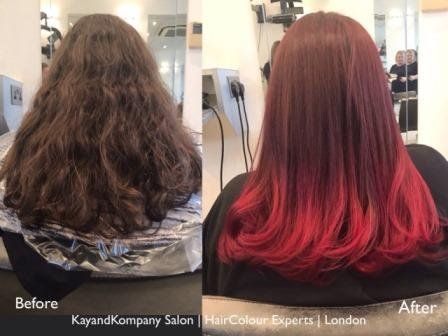 ombre hair balayage hairstyles long hair kayandkompany hairdressers london n10 muswellhill best salons