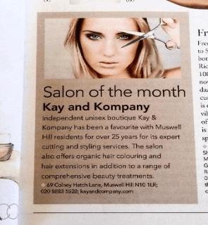 Hair cuts at best salon in north London, n10 kayandkompany