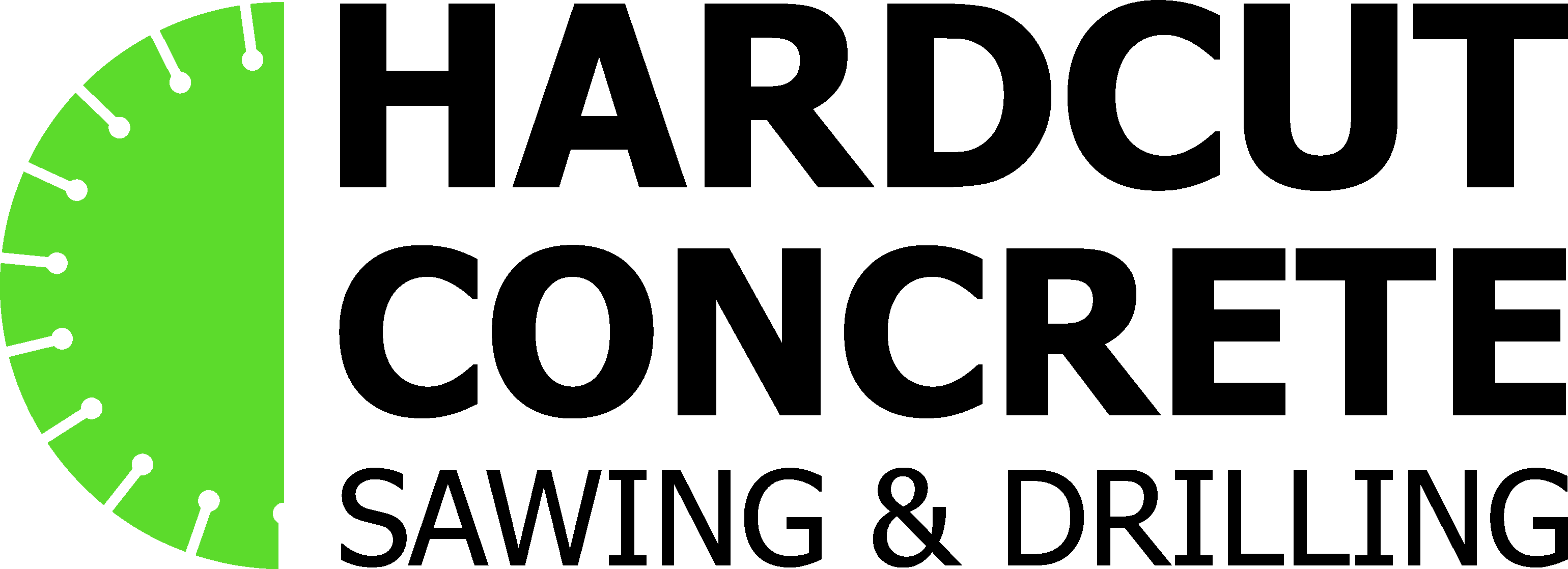 hardcut concrete sawing and drilling logo