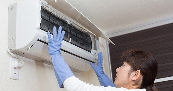 residential air conditioning split unit repair