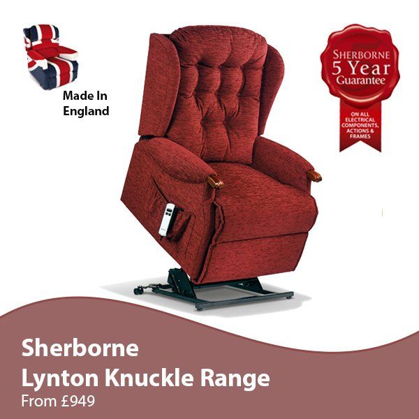 Sherborne Lynton Knuckle Riser Recliner Chair