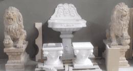scale in marmo, camini in pietra, statue per giardino, mosaici, pietra
