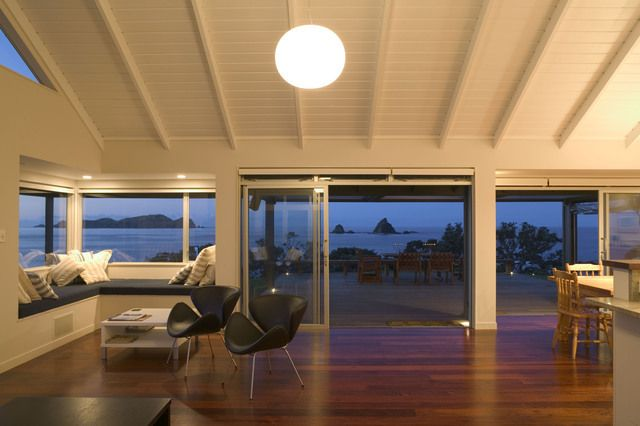 Interior of Altherm Marble Bay designed by Delamare Architects