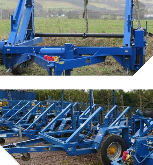 cable drum trailers for hire